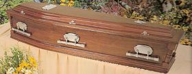 Denman Cedar Coffin